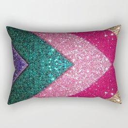 The Glittery Way Rectangular Pillow
