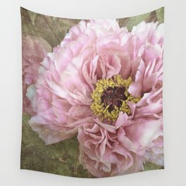 summertime peony Wall Tapestry