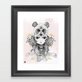 Bear Spirit Framed Art Print
