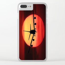 Emotions Fly Clear iPhone Case