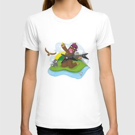 Bigfoot Rocks! T-shirt