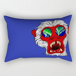 """Arctic Monkey"" by Virginia McCarthy Rectangular Pillow"