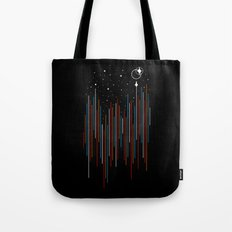 Through The Cosmic Rays Tote Bag