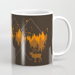 Tradicional Nature Pattern Coffee Mug