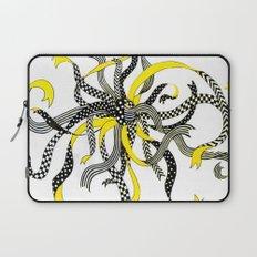 Swirling Ribbons Laptop Sleeve