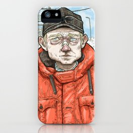 Lester Nygaard… He'd hate for your pretty face to freeze…  iPhone Case