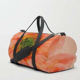 salmon flower Duffle Bag
