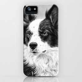 Dog Portrait 02 iPhone Case
