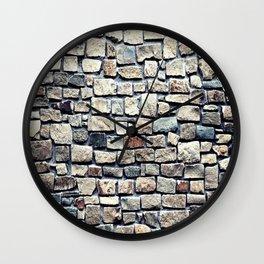 Stone Wall rustic decor Wall Clock