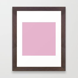 Sweet Lilac E8B5CE Framed Art Print