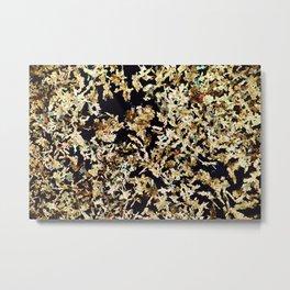 Magnesium Platino Cyanide Crystals Metal Print