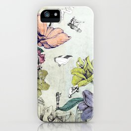 Flower forest iPhone Case