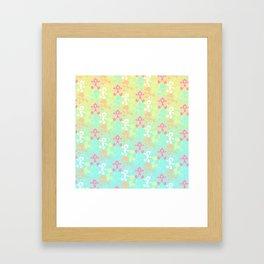 Fruity Game & Watch Framed Art Print
