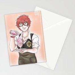 Seven CAFE Stationery Cards