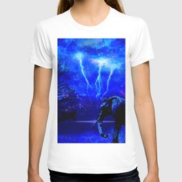 ELEPHANT LIGHTNING AND AFRICAN NIGHTS T-shirt