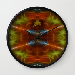 Tarot card V - The Hierophant Wall Clock