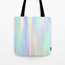 Pastel rainbow abstract Tote Bag