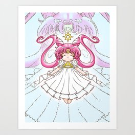 Sailor Moon: Princess Small Lady Serenity Art Print