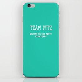 Team Fitz iPhone Skin