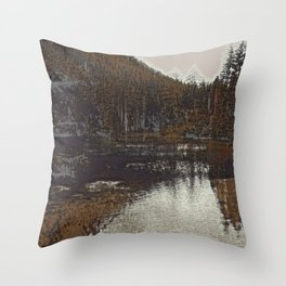 Lake II Throw Pillow