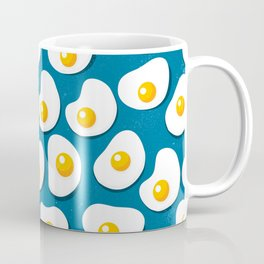 Fried eggs food pattern Coffee Mug