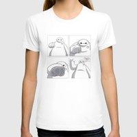 big hero 6 T-shirts featuring Big Hero 6 - Baymax  by MarcoMellark