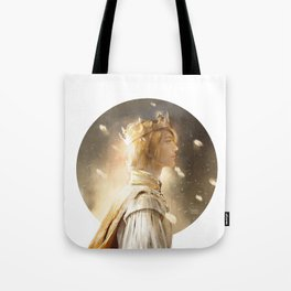 Golden King Tote Bag
