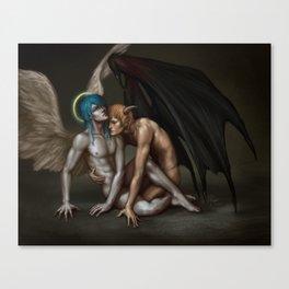 Sacred and Profane Canvas Print