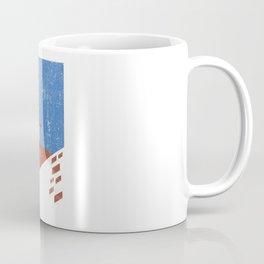 Vintage Travel Poster, Aged and Weathered - Campanile Coffee Mug