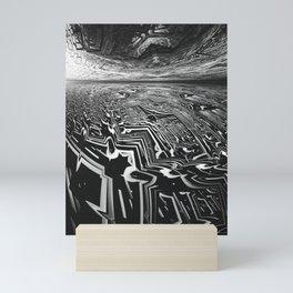 Scattered Words Mini Art Print