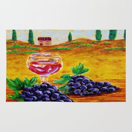 Taste Of Italy By Annie Zeno Rug
