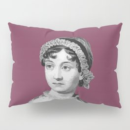 Authors - Jane Austen Pillow Sham