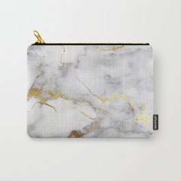 Italian gold marble Carry-All Pouch