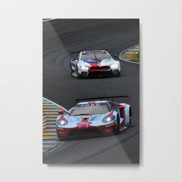 GT Sports Motor Car Le Mans Metal Print