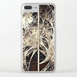 Abstract art B1 Clear iPhone Case