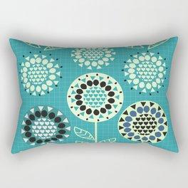 Floral romance Rectangular Pillow