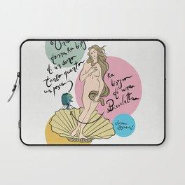 Botticelli' s Venus Laptop Sleeve