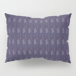 Purple flower Pillow Sham