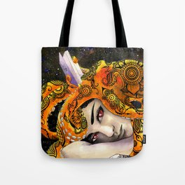 Deep Reading Tote Bag