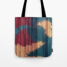 Wood Splash Tote Bag