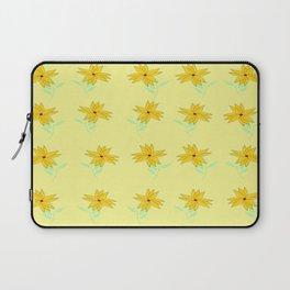 yellow vintage feel Laptop Sleeve