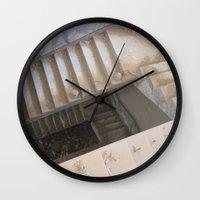 escher Wall Clocks featuring Escher by KMZphoto
