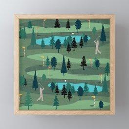 Golf Day Out Framed Mini Art Print