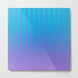 Gradient Stripes Pattern ctb Metal Print