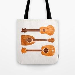 Hawaiian Ukuleles Tote Bag
