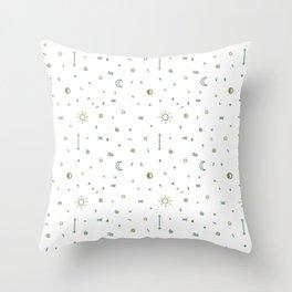 Symbology Throw Pillow