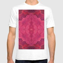 Magenta Waves T-shirt