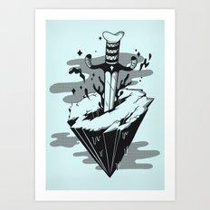 Releasing Dark Matter Art Print