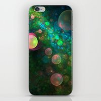 psychadelic iPhone & iPod Skins featuring Inner Space by Lyle Hatch