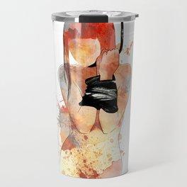 Shibari - Japanese BDSM Art Painting #5 Travel Mug